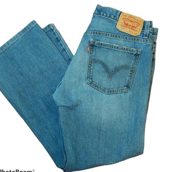 Levi's 507 Slim Boot Cut Denim Jeans